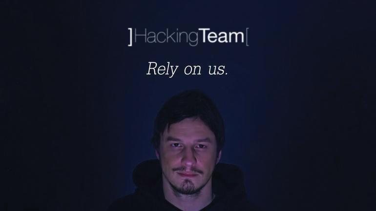 이탈리아 해킹팀의 광고 이미지